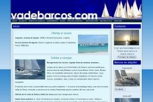 Diseño Web Posicionamiento SEO Charter Denia Javea Ibiza