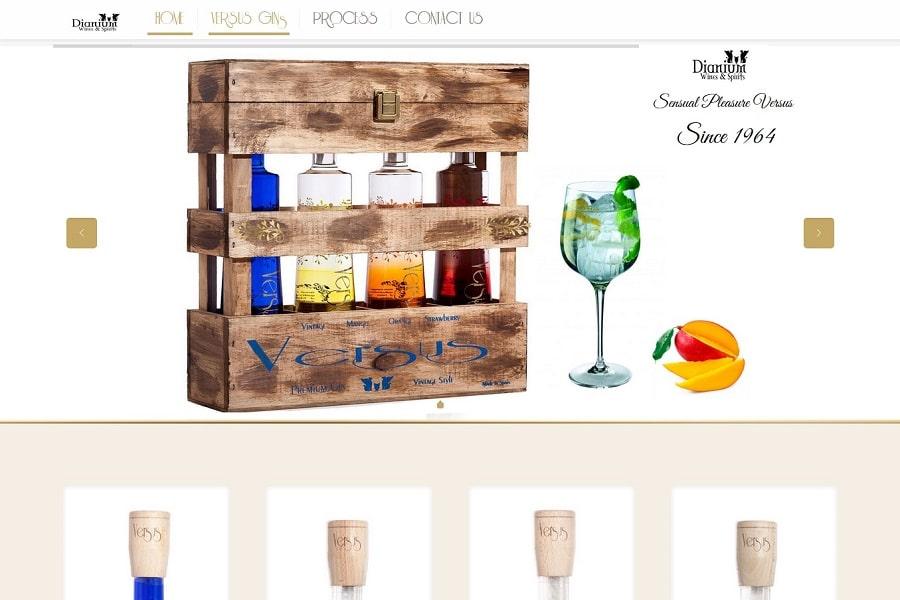 Diseño Web Responsive Denia Javea DianiumSpirits-com
