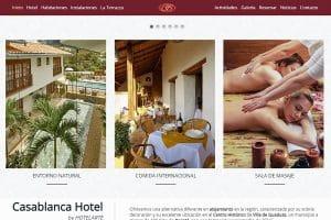 Diseño Web Posicionamiento SEO Hotel Dénia Jávea Calp