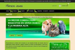 Diseño Tienda Online Javea Denia Pedreguer PiensosJavea-com