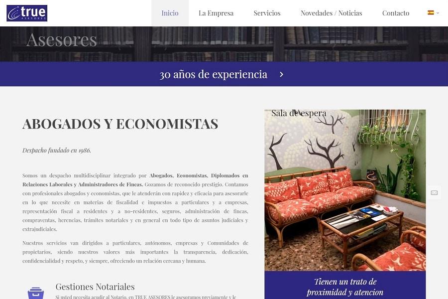 Diseño Web SEO Abogados Consultores CostaBlanca MarinaAlta
