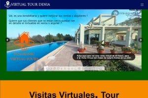 Diseño Posicionamiento SEO Web Visitas Virtuales Fotos360º Dénia Jávea
