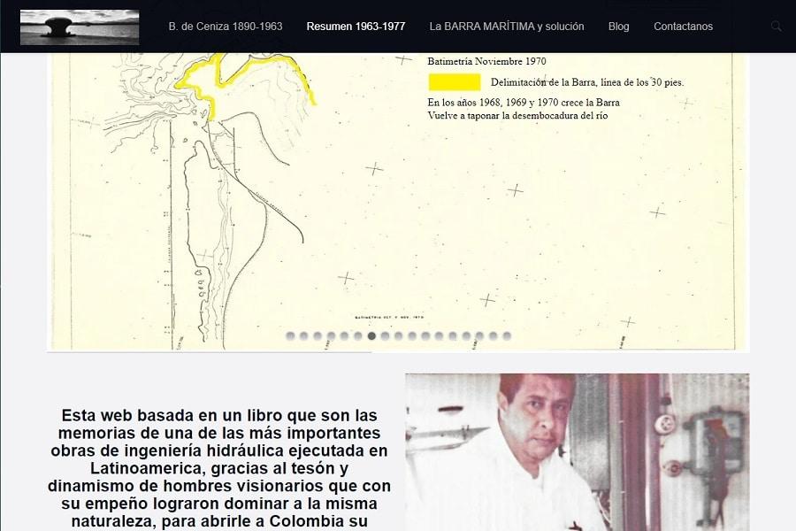 Diseño Web Posicionamiento SEO Documental Barranquilla BocasDeCeniza